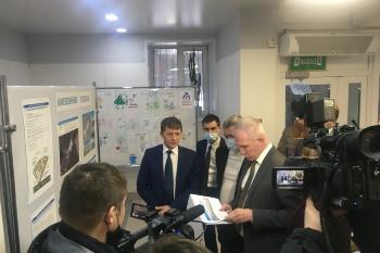 Проведено выездное совещание по строительству детского и взрослого инфекционных госпиталей на территории Заволжского района г. Ульяновска