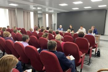 Министерством строительства и архитектуры Ульяновской области проведен обучающий семинар по вопросу проведения проверок в рамках муниципального земельного контроля