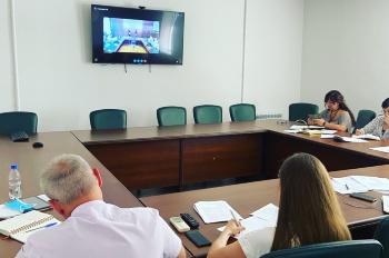 При Министерстве строительства в режиме ВКС состоялся семинар, организованный Росреестром