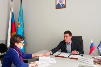 Приём граждан в Общественной приемной партии «Единая Россия»